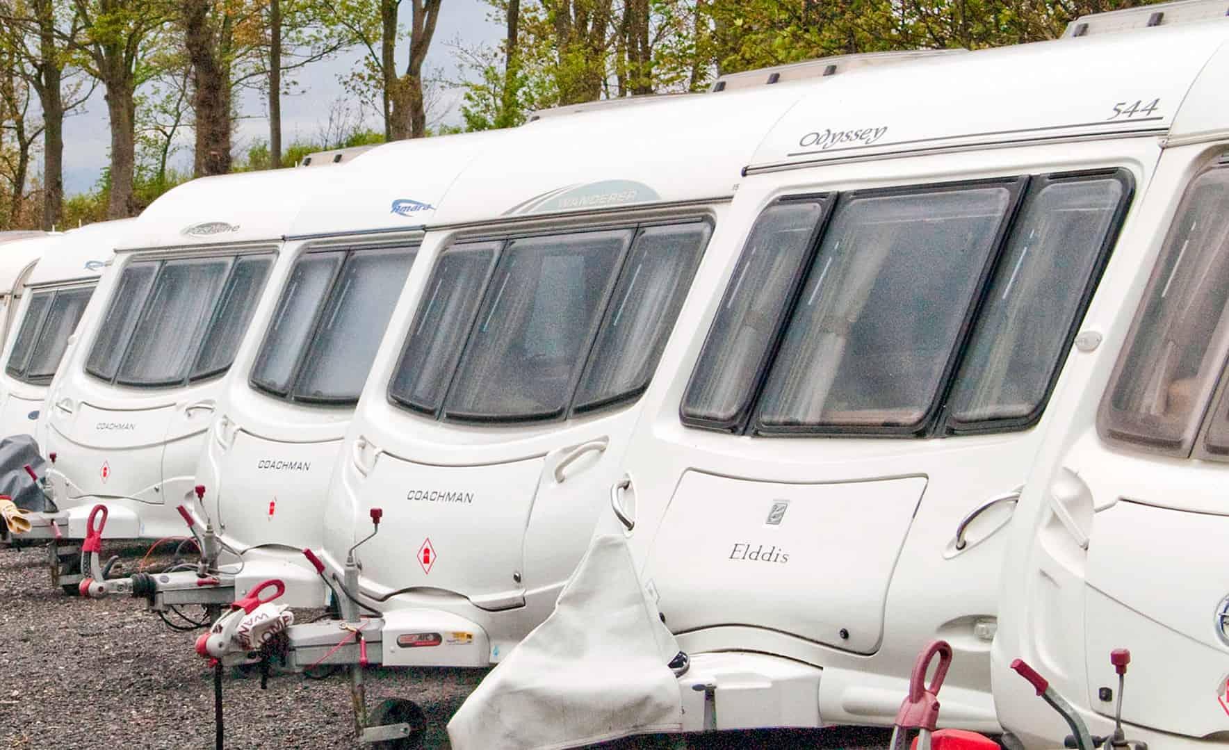 Caravan Storage Near Blackpool